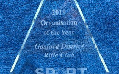 Award goes to Gosford Rifle Club